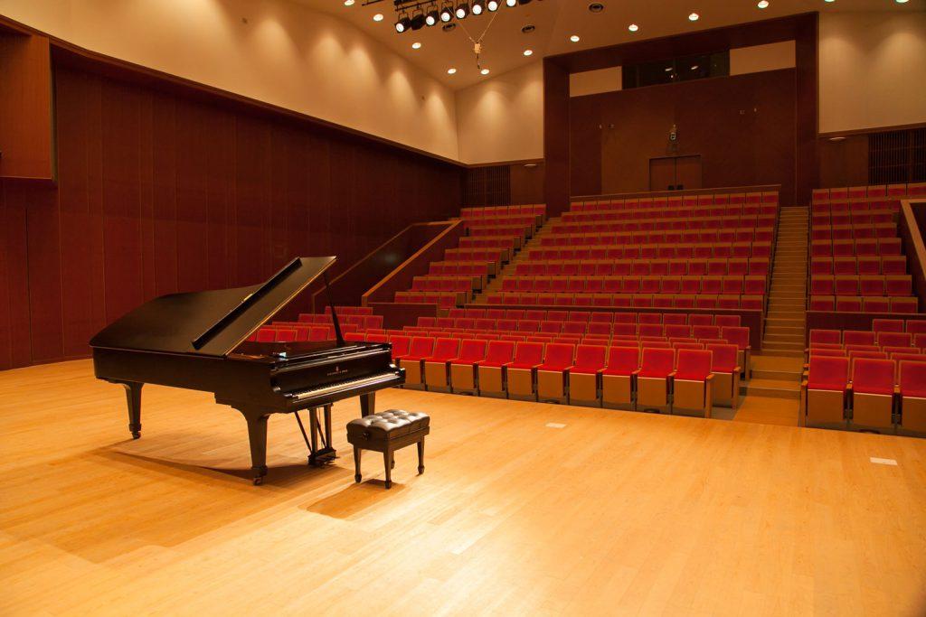 京都堀川音楽高校 音楽ホール ステージイメージ画像